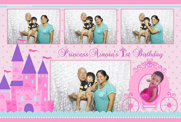 Princess Aurora's 1st Birthday (Fusion Photo Booth)