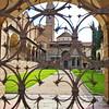 Courtyard of the Basilica of Santa Croce