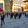 Marching Band in the Piazza Santa Croce