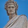 Statue of Dante in the Piazza de Santa Croce
