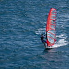 Wind Surfer in Punta Delgado