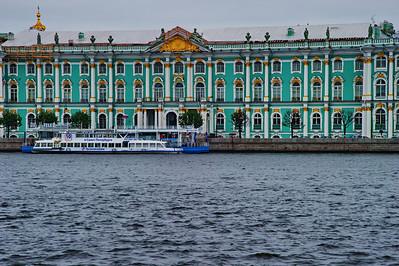 The Hermitage across the Neva River