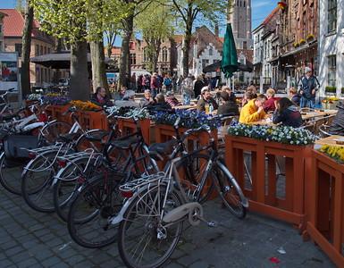Brugge, Belgium cafe