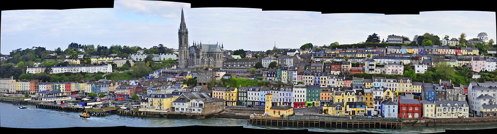 Panoramic View of Cobh from the Emerald Princess