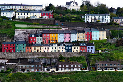 Cobh's colorful houses