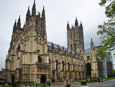Canterbury Cathedral (the best I could do with the cramped square)