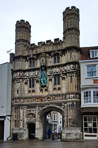 the Canterbury Cathedral Gate