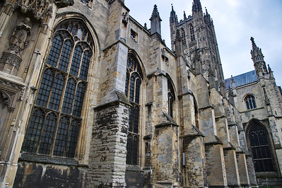 the Canterbury Cathedral