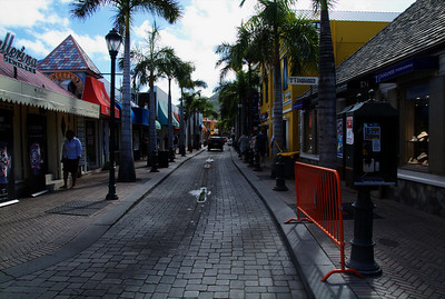 St. Martin shopping district