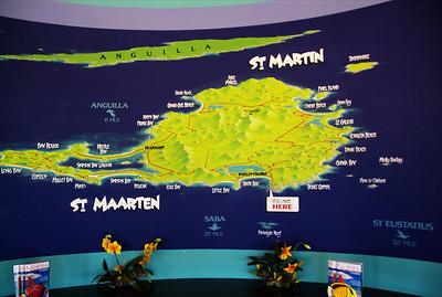 Map of St. Marten