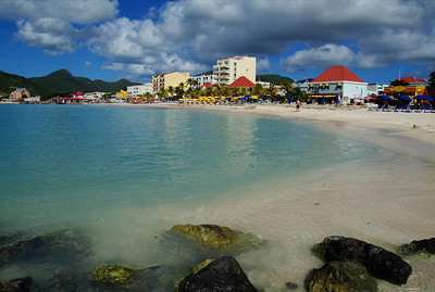 St. Martin beach area