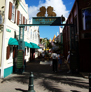 Old Street in St. Martin