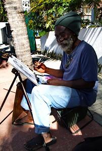 Local artist, James