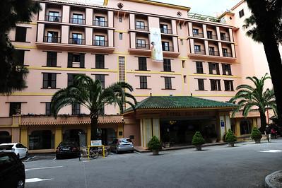 Marbella, Spain on the Costa del Sol Hotel El Fuerte