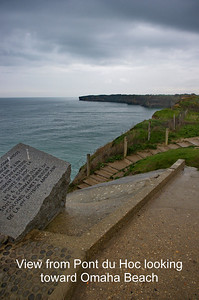 The view from Point du Hoc