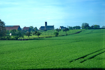 Normandy countryside