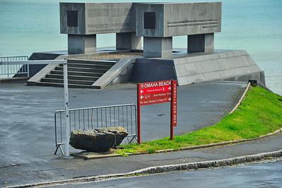 Omaha Beach National Guard Memorial