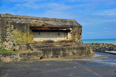Bunker on Omaha Beach