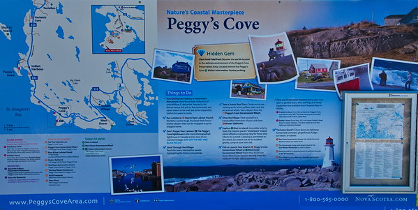 Map of Peggys Cove