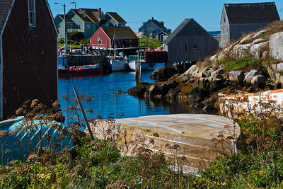 This is the small inlet that is Peggy's Cove.