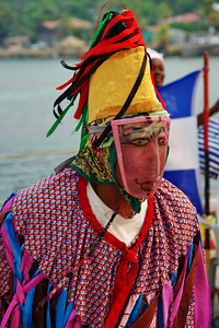 Roatan, Honduras native dress