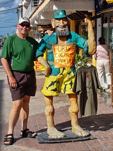 Cozumel, my old friend Fidel
