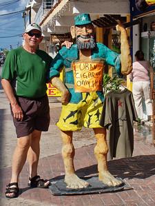 Cozumel, my old friend Fidel