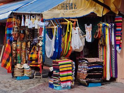 Cozumel, Mexico souvenir shop