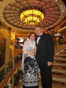 Ruby Princess Cruise:  Ft. Lauderdale to Rome 2013 Formal Night