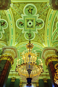Ceiling of the Peter and Paul Cathedral