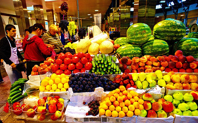 St. Petersburg fruit and vegetable market