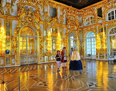 Interior of Katherine Palace