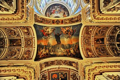 St. Isaacs Church ceiling