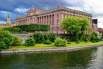 Stockholm Riksdag, their parliament