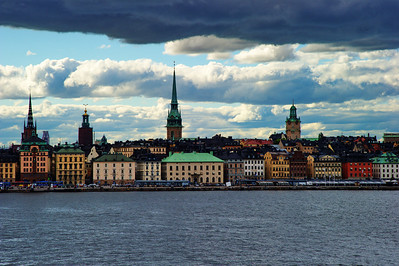 Stockholm from the Emerald Princes