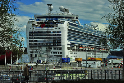 Emerald Princess in Stockholm