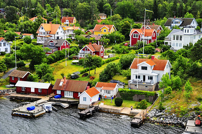 Coast homes of Sweden