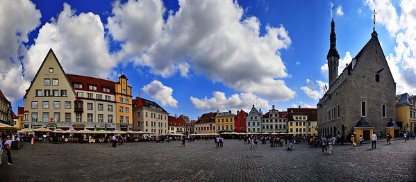 Town Square (Panoramic)