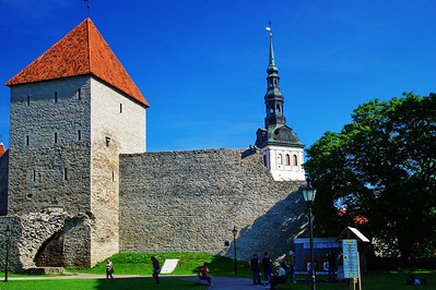 Town Wall & Cathedral of Saint Mary the Virgin (Dome Church)