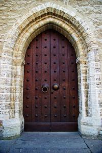 Town Hall doors