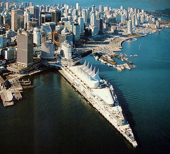 Picture of a Picture of Vancouver