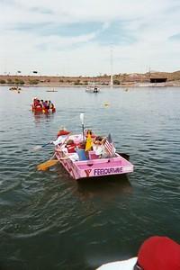Heat # 1 - Anasazi girls paddle out