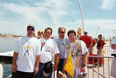 Anasazi Dads - Matt, John, Doug, & Rex.