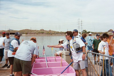 Boat launch ramp - final prep & prayer