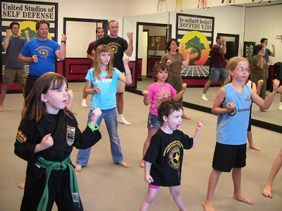 Kids Self Defense Class