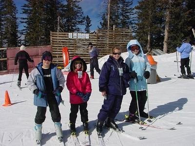 Yavapai/Navajo Sunrise Ski Trip -- Feb 20-22, 2004