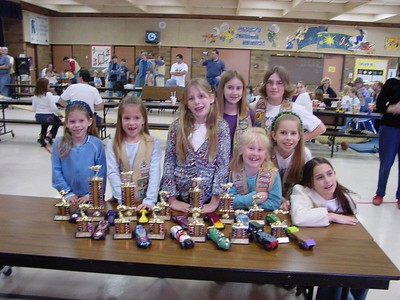 Pinewood Derby - Dec 14, 2002 - Yavapai