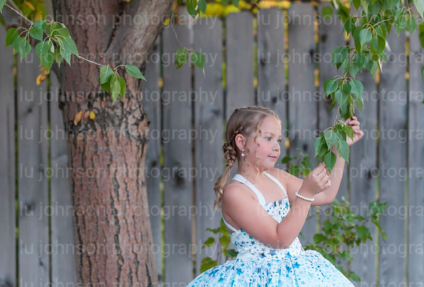 Abby in Blue Star Gown        Size 6 Gown