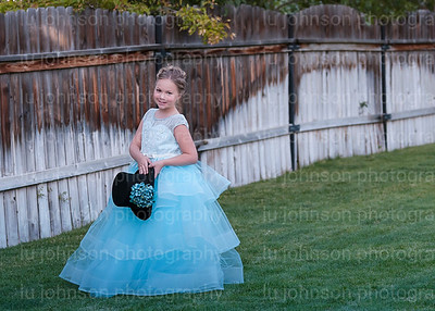 Abby in Blue Gown    Size 10 Gown