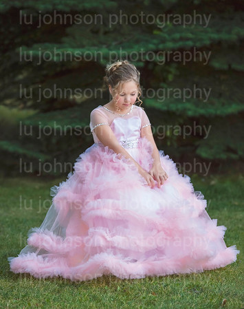 Abby in Pink Gown     Size 8 Gown